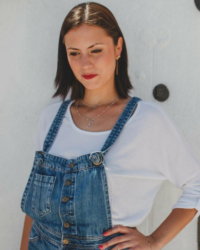 Collares de plata sostenible para mujer-NEHCAA