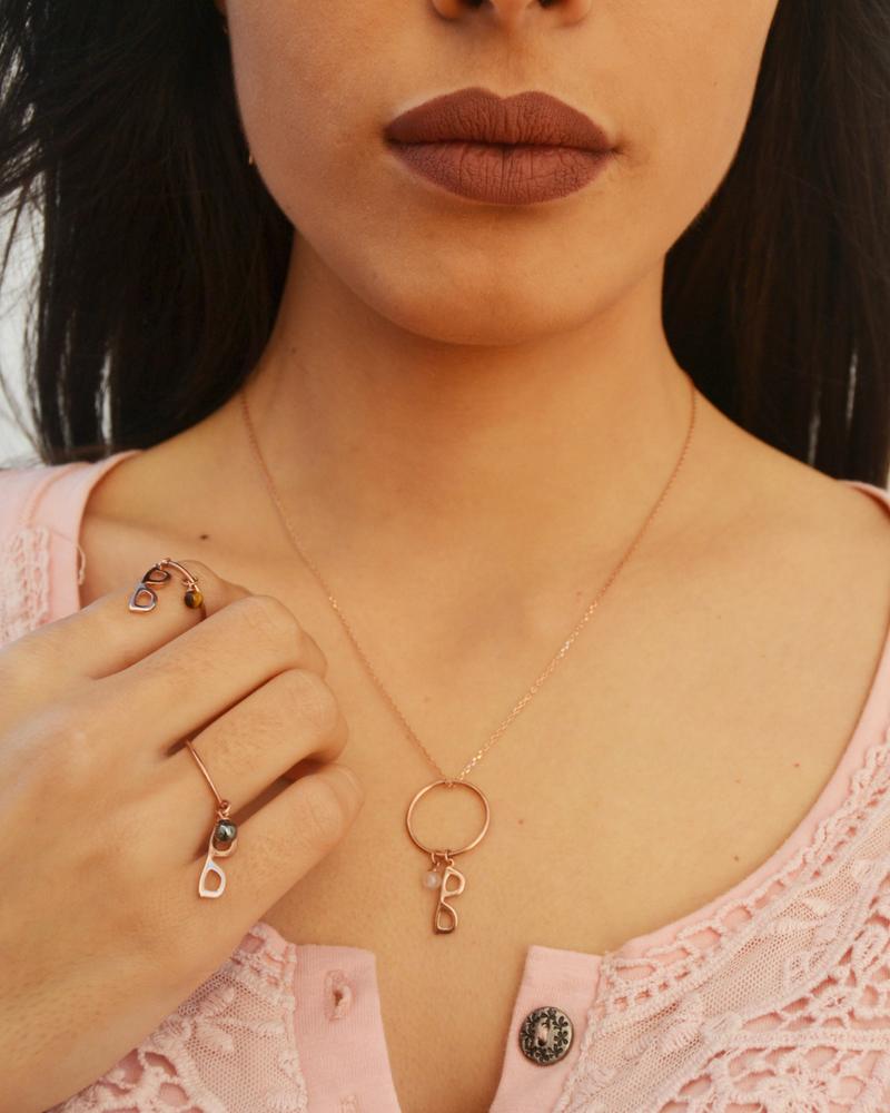 anillos de oro rosa-joyeria sostenible-NEHCAA