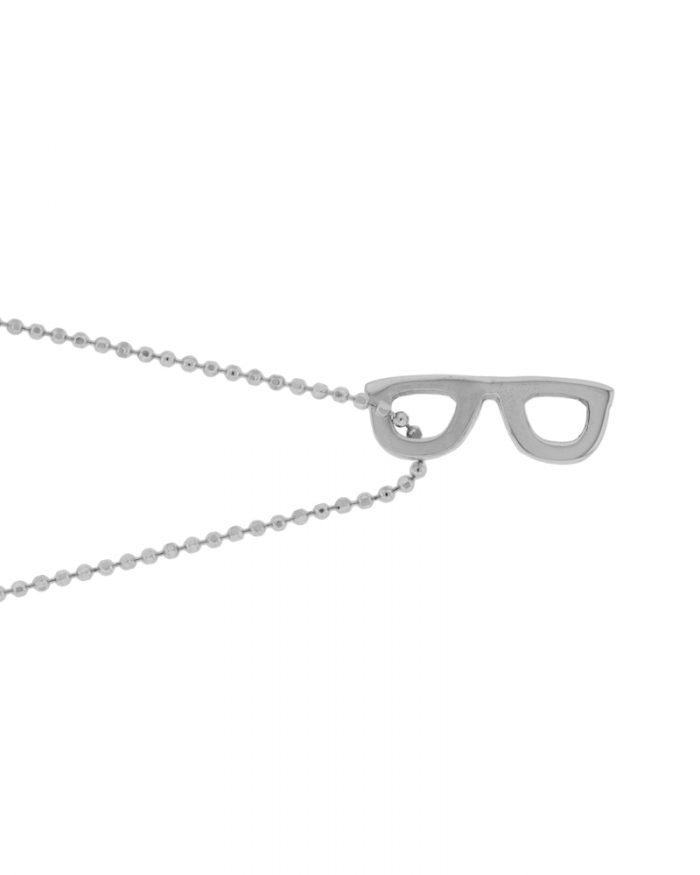 colgante de plata gafas-Joyeria sostenible-NEHCAA Jewelry