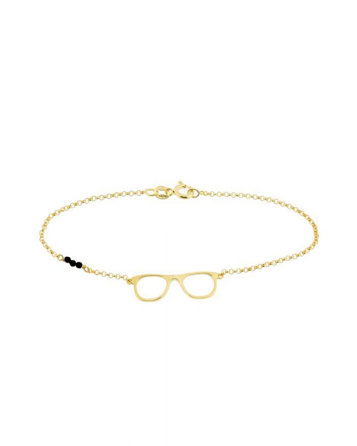 pulseras de mujer-pulseras agradecida-oro-NEHCAA