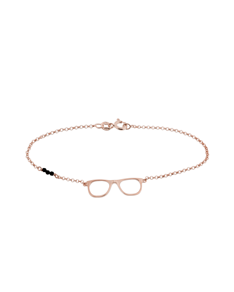 pulseras de mujer-pulseras agradecida-oro rosa-NEHCAA