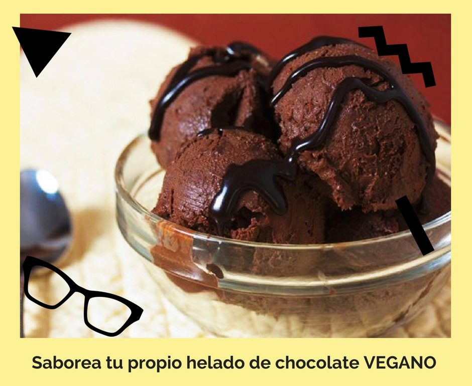 Helado Vegano Chocolate