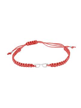 Pulseras de hilo roja mini glasses