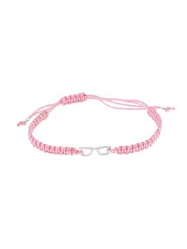 Pulseras de hilo rosa mini glasees