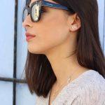 Pendientes ear cuff plata mini glasses NEHCAA Jewelry