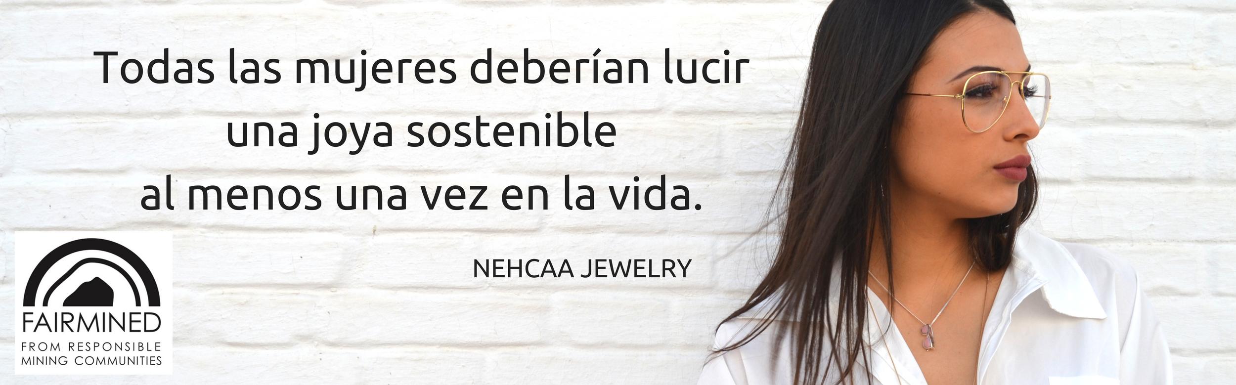 Joyeria sostenible-tienda online NEHCAA