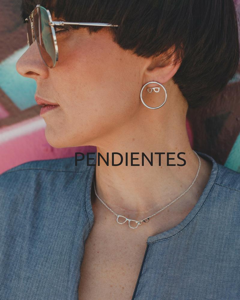 Pendientes de plata de aros-Tienda online NEHCAA