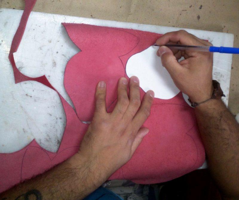 Fundas de gafas NEHCAA-Dibujando plantilla