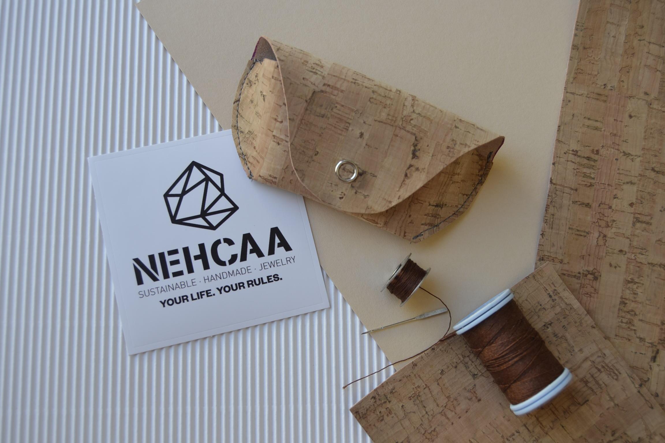 Fundas de gafas NEHCAA de corcho