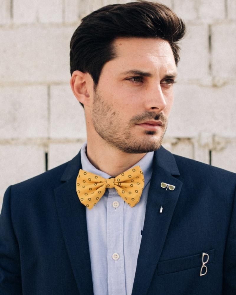 Alfiler de solapa o corbata-Glasses-NEHCAA-Joyas para hombres