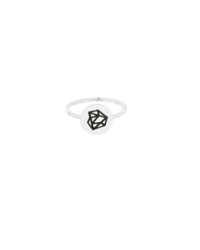 Anillo de plata sostenible Macarena_Detalles_NEHCAA Jewelry