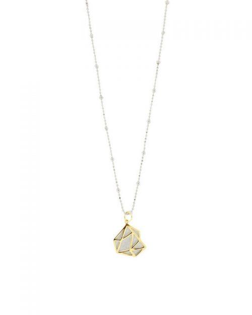Colgante de oro Noa_Plata Sostenible_NEHCAA Jewelry_detalles