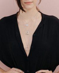 Colgante de plata Guadalupe_Plata Sostenible_NEHCAA Jewelry