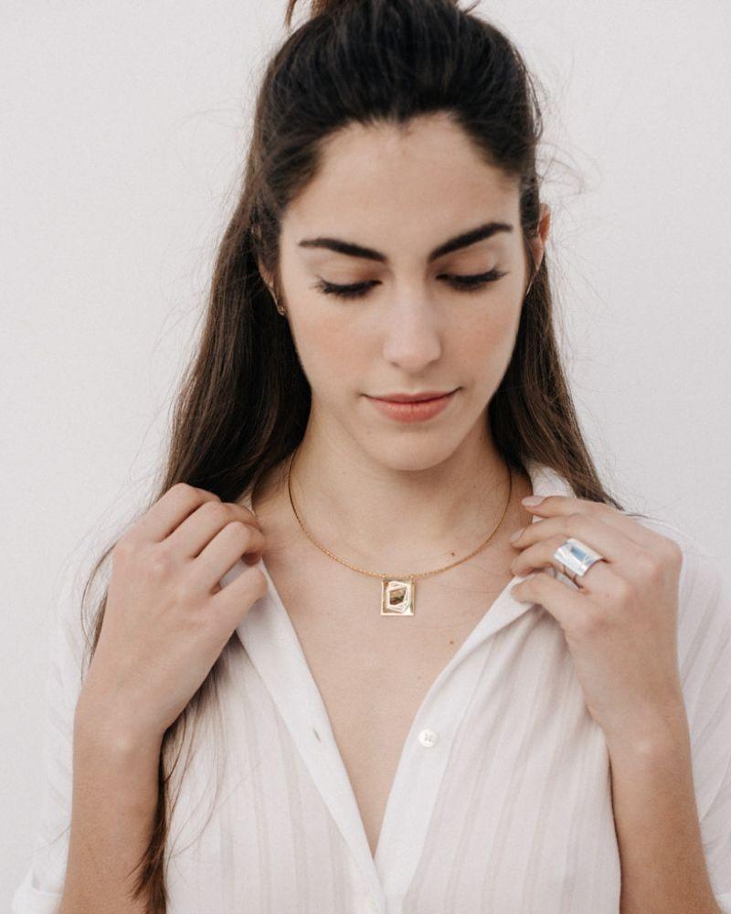 Gargantilla de oro_Plata Sostenible Fairmined_NEHCAA Jewelry