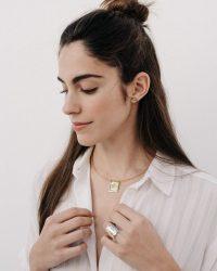 Gargantilla de oro_Plata Sostenible_NEHCAA Jewelry