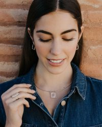 Gargantilla de plata sostenible Silvia_NEHCAA Jewelry