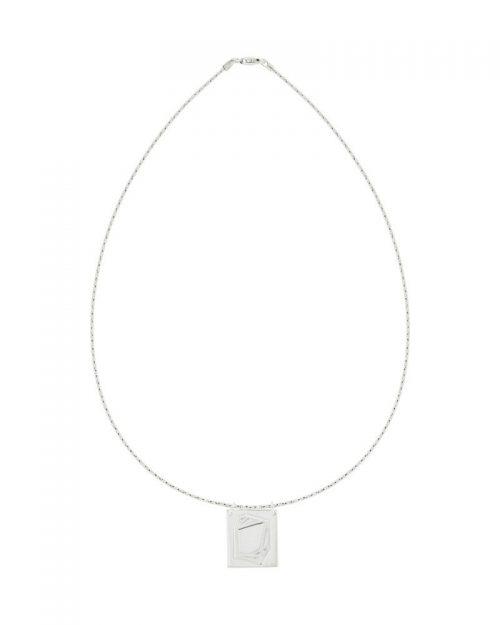 Gargantilla de plata sostenible_detalles_NEHCAA Jewelry