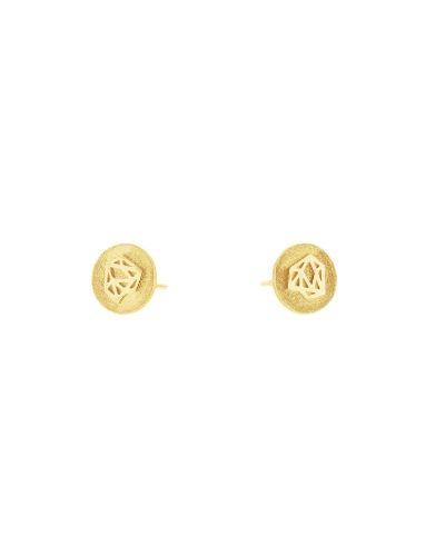 Pendientes de oro_Plata Sostenible_Detalles_NEHCAA Jewelry