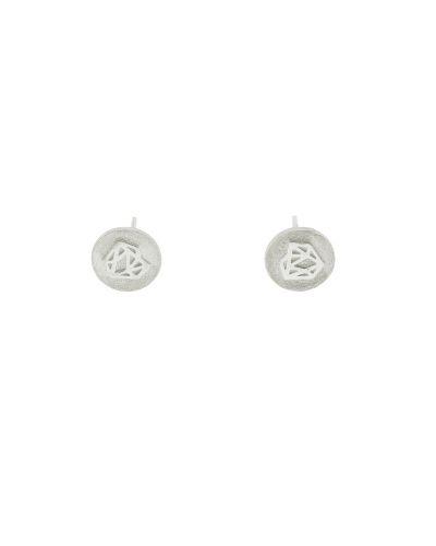 Pendientes de plata sostenible Mónica_Detalles_NEHCAA Jewelry