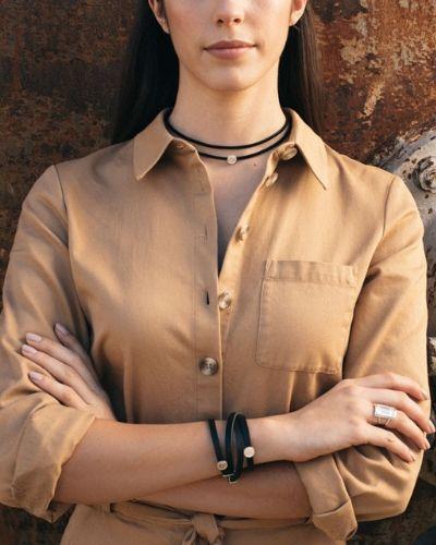 Choker de plata sostenible Charo NEHCAA Jewelry