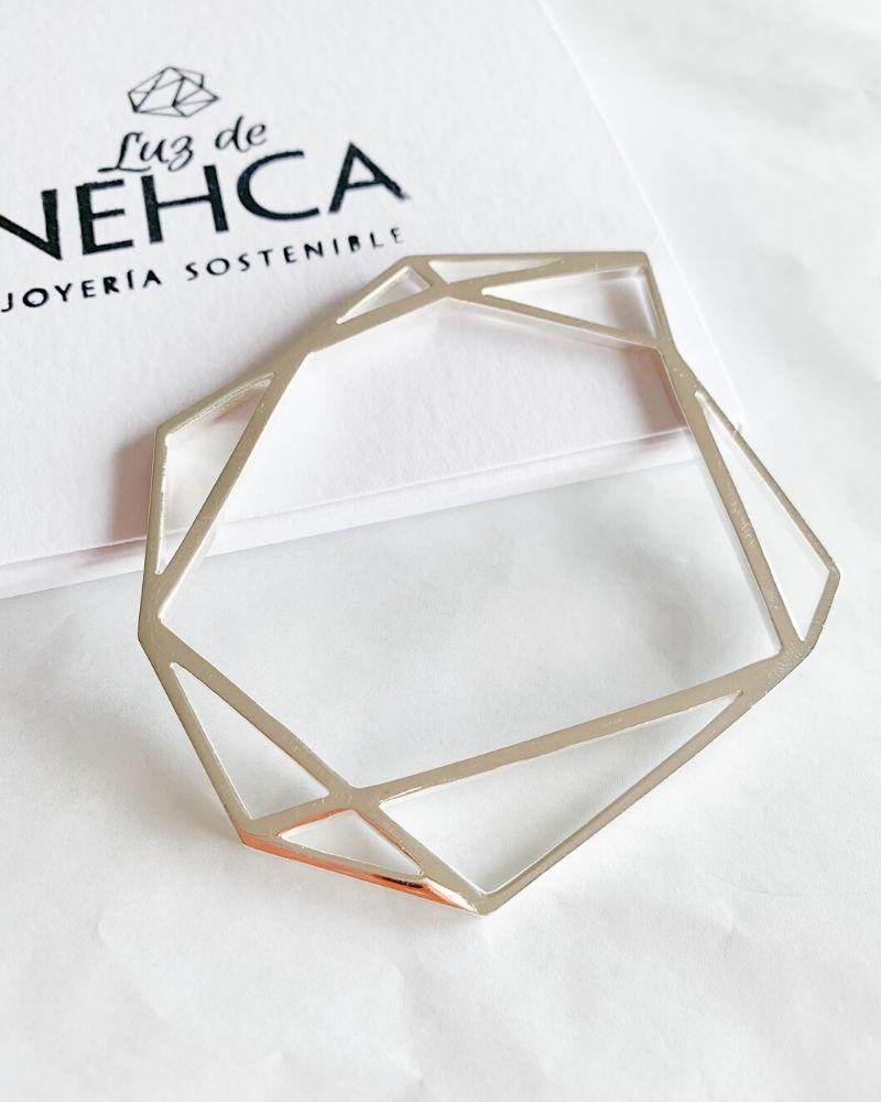 Pulsera_diamante_de_plata_sostenible_Fiona_Luz_de_Nehca